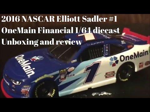 Elliott Sadler 2013 One Main Financial 1:64 Nascar Diecast