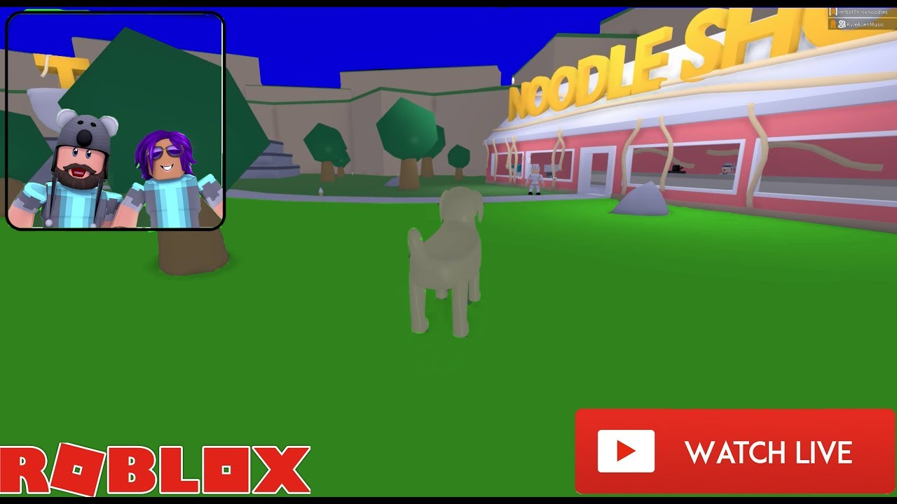 We Re Back Come Meet Us On Noodletopia Hangout Roblox Youtube