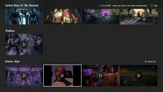 Snoop Dogg blasting Microsoft on Saints Row IV page on console