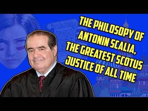 The Philosophy Of Antonin Scalia