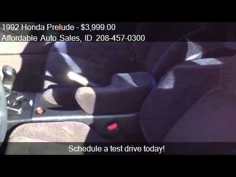 1992 Honda Prelude  for sale in Post Falls, ID 83854 at Affo