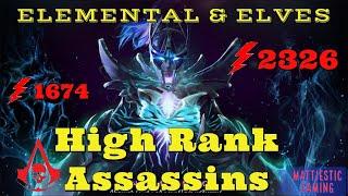 Dota Auto Chess High Rank Rook Replay ELEMENTAL + ELVES ASSASSIN