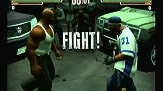 Def Jam Fight for NY - D-Mob vs Blaze (HARD)