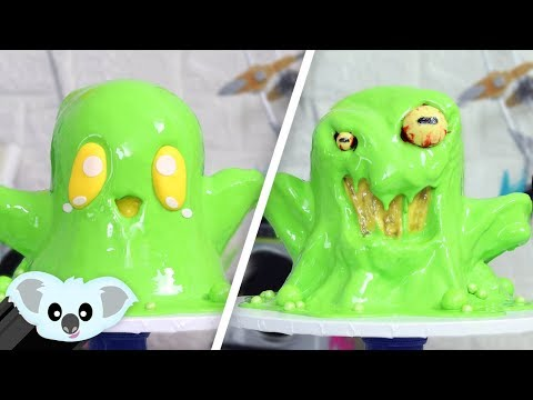 HALLOWEEN Slime MONSTER CAKE | Scary & Spooky Ideas
