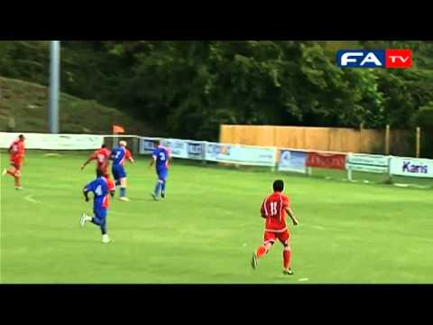 The FA Cup 2011 Preliminary Round Replay - Hartley Wintney 4-0 Whitehawk