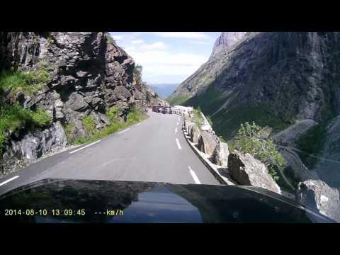 rijden in Noorwegen