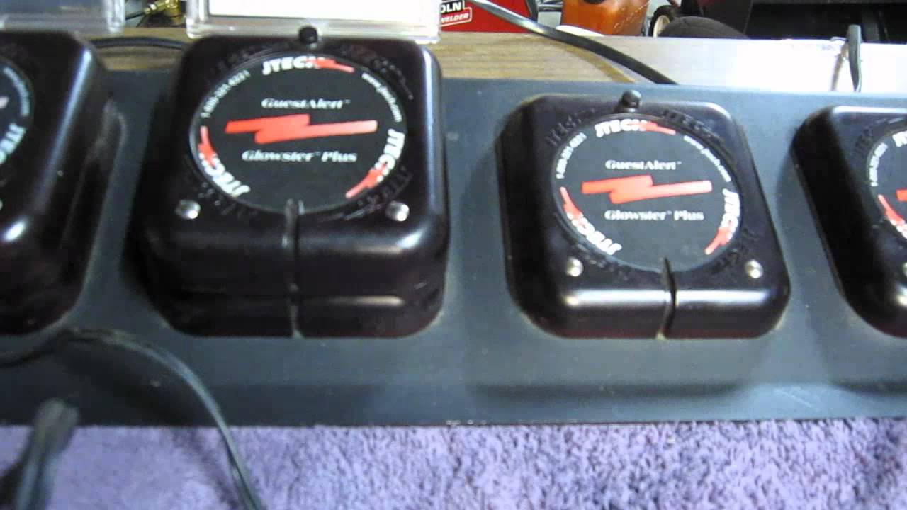 Jtech Paging System Receiver Cheap Battery Fix With 2 Aa