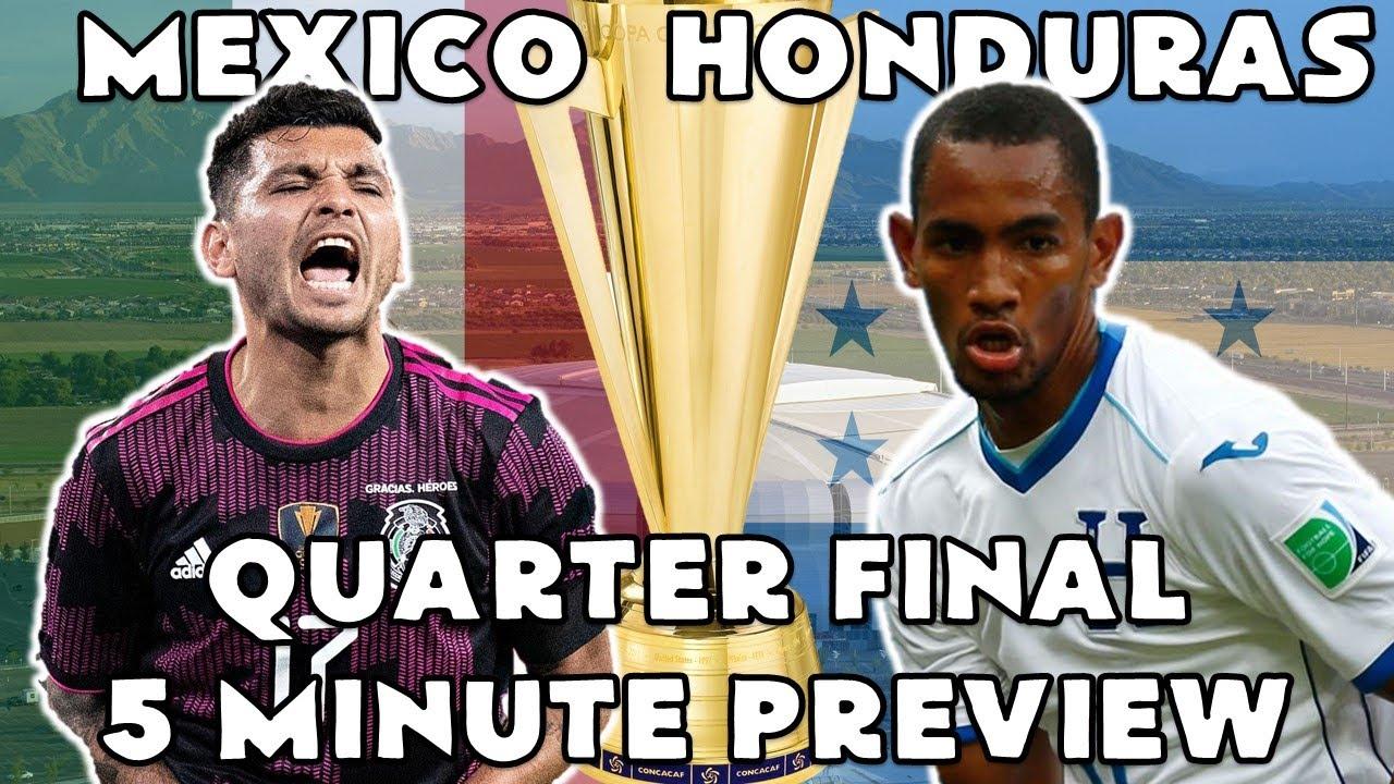 2021 Gold Cup Quarterfinal match preview: Mexico vs Honduras
