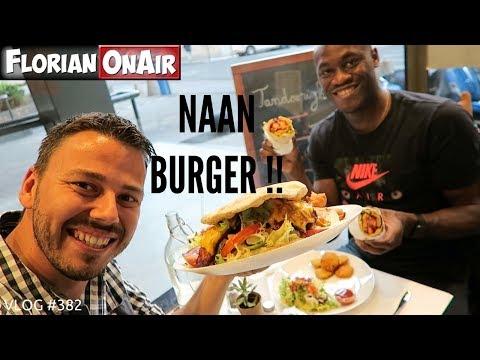 un-naan-burger-au-poulet-tandoori-!---vlog-#382