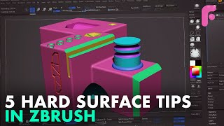 5 Hard Surface Tips in ZBrush You Didn't Know