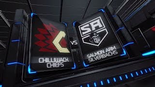 BCHL Highlights | Chilliwack vs. Salmon Arm - Nov. 3rd, 2018