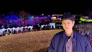 Best Christmas lights in Japan (Japan Travel Vlog)   Fumiya