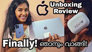 I Phone 12 Pro Max phone & Mac book Pro Unboxing & Review|Finally I got it!!!Asvi Malayalam