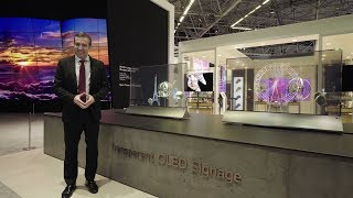 [ISE 2018] LG Booth Overview