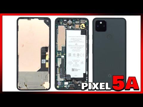 Google Pixel 5a Disassembly Teardown Repair Video Review