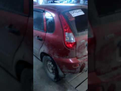 видео: Дверь багажника калина