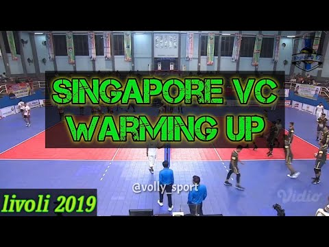Warming up Singapore vc VS Yuso sukun