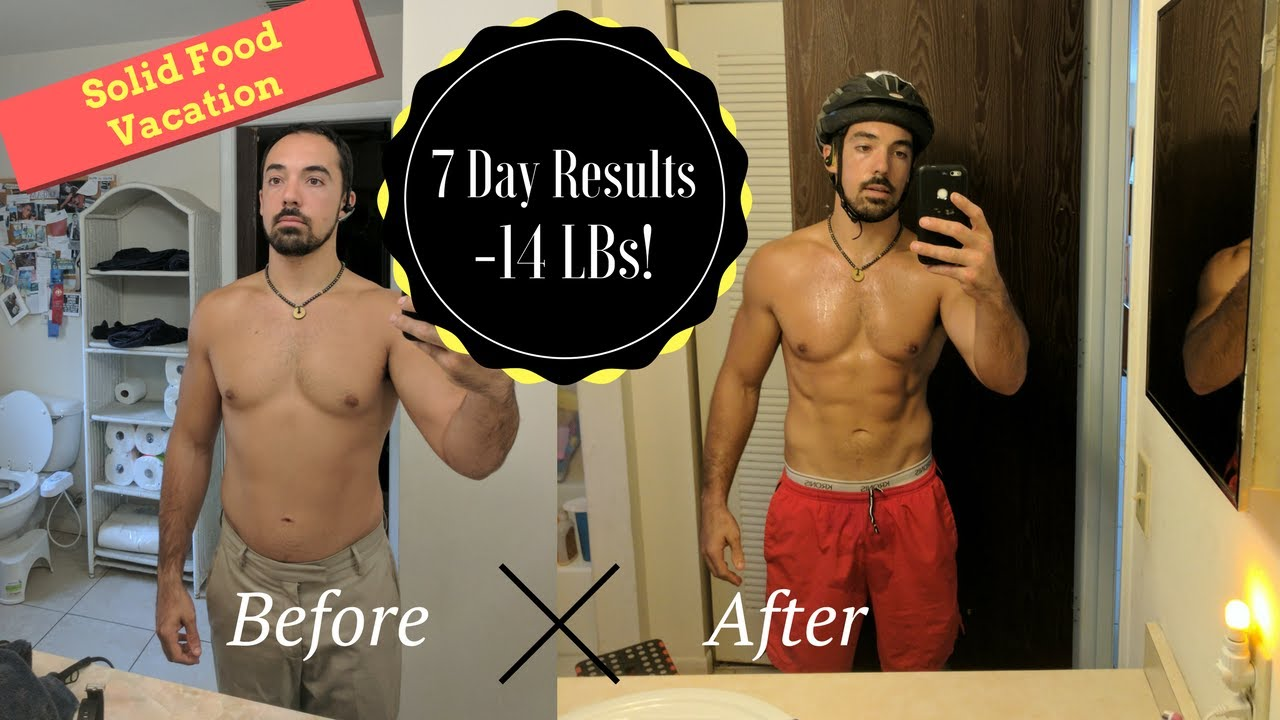 Amazing 7 Day Juice Fast Transformation Day By Day Pics