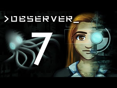Observer - APARTMENT 205 & THE VR PIG DECISION ~Part 7~ (Indie Cyberpunk Horror Game)