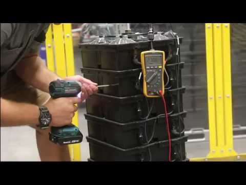 Aquion Battery Safety: Nail Penetration Test