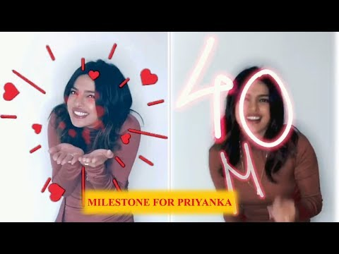 Priyanka Chopra Jonas celebrates 40 million Instagram followers with adorable post Mp3