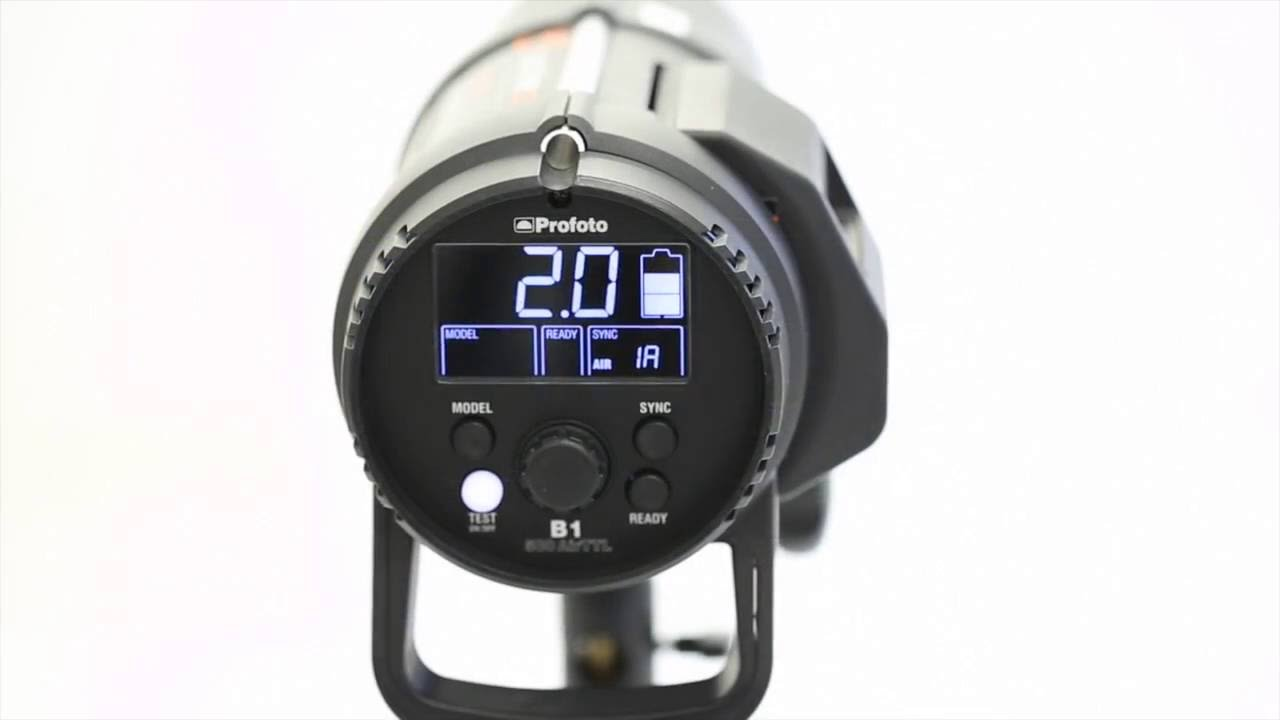 High Speed Sync Profoto B1 With Canon 5d Iii Youtube
