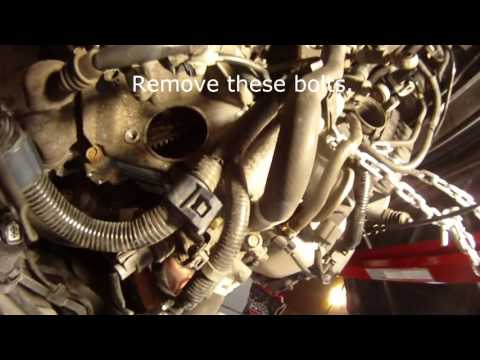 2002-2005 Honda Civic Manual Trans Removal - Clutch, Throw-out Bearing and ISB Replacement Part 1