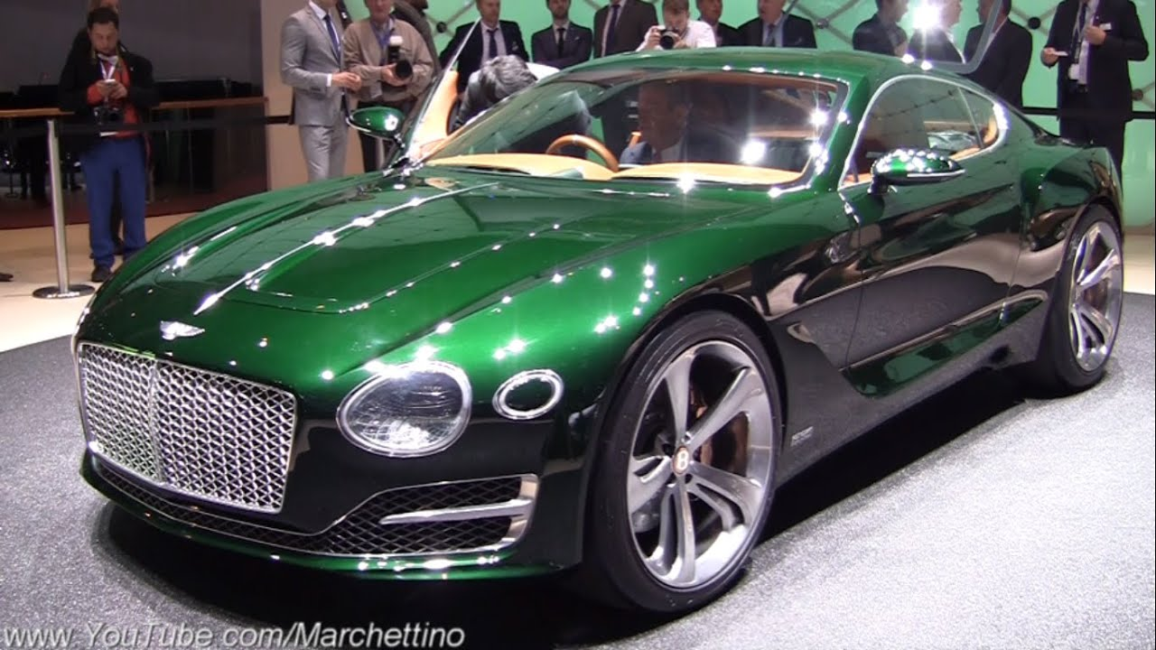 bentley exp10 speed 6 concept world premiere youtube
