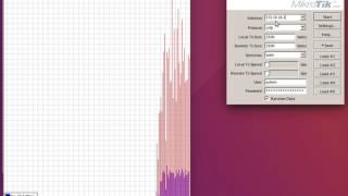 Тестване на скоростта на безжична мрежа - 802.11n /5GHz/40Mhz Channel