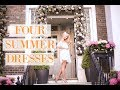 FOUR SUMMER DRESSES 🌼 What I Wore for #ChelseaInBloom 🌼 A Floral Lookbook    |   Fashion Mumblr