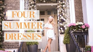 FOUR SUMMER DRESSES 🌼 What I Wore for #ChelseaInBloom 🌼 A Floral Lookbook        Fashion Mumblr