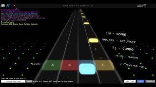 Roblox Rhythm Track (Mobile):Pokemon XYZ Theme song