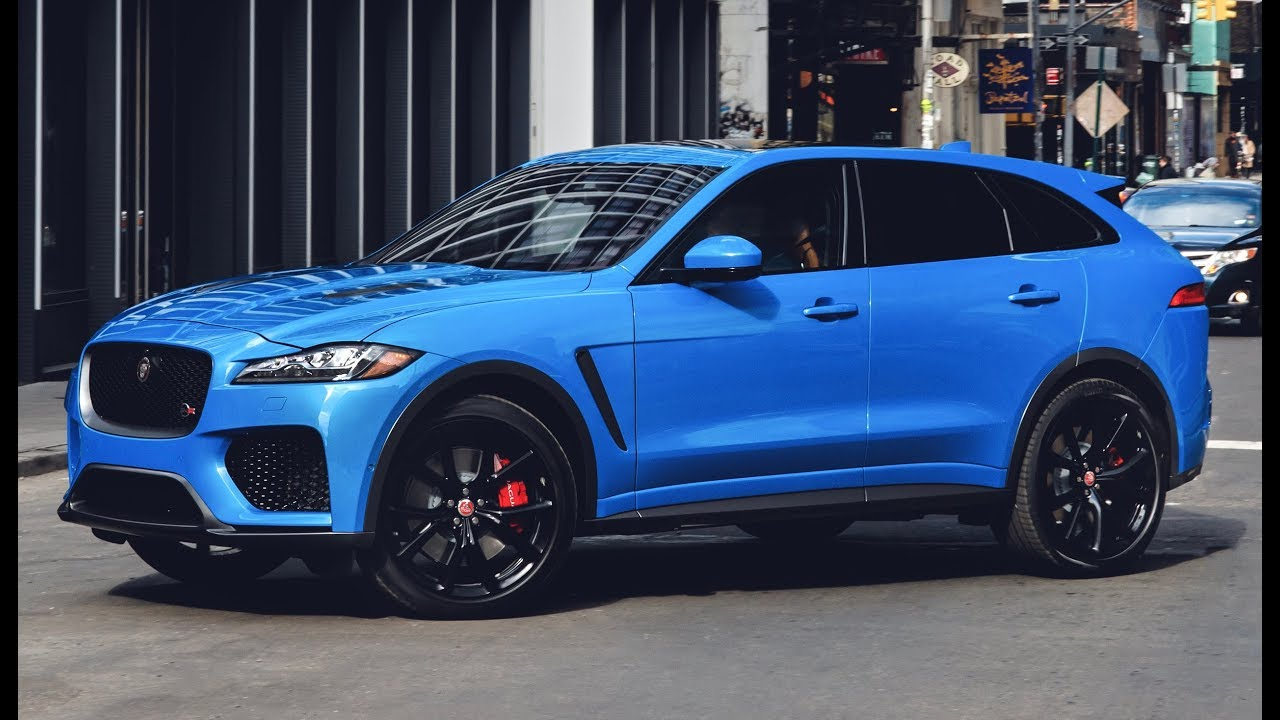 2019 Jaguar F Pace Svr Features Design Interior And Drive Youtube