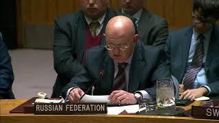 Выступление В.А.Небензи на заседании СБ ООН по Сирии