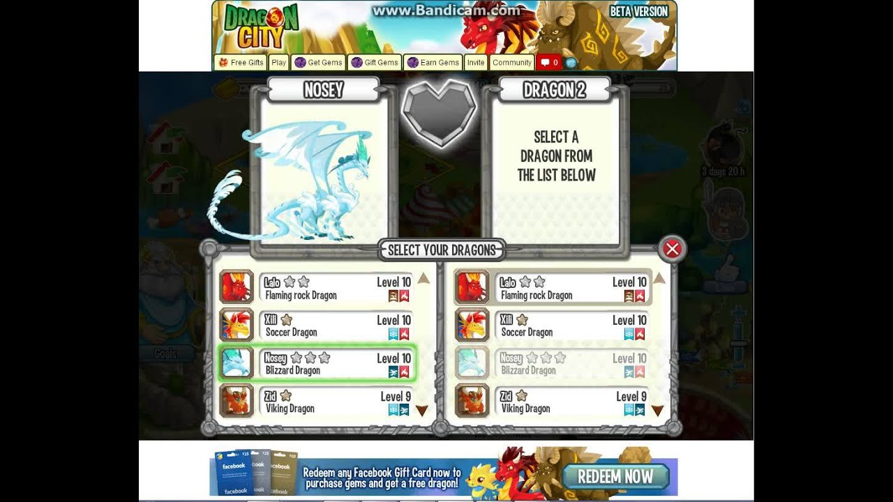 How To Get Cool Fire Dragon By Breeding In City