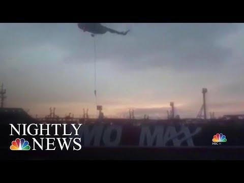 New Audio Of Iranian Seizure Of British Tanker  NBC Nightly News
