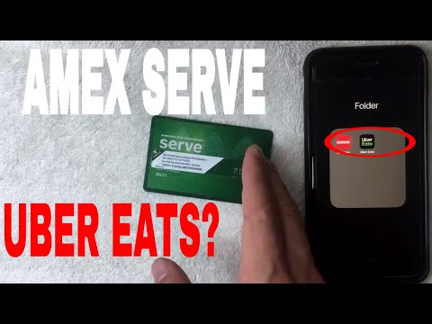 ✅  Can You Use American Express Serve Prepaid Card On Uber Eats 🔴