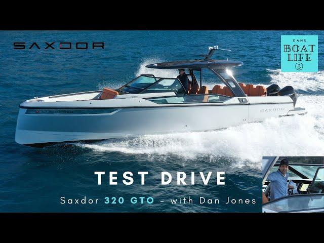 Saxdor 320 GTO - TEST DRIVE video with Dan Jones