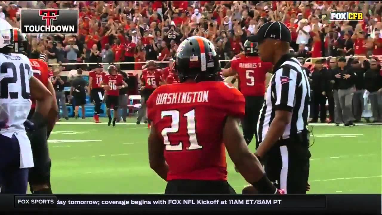 Texas Tech At Tcu 2015 Big 12 Football Highlights Youtube