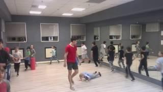 Тренировка по Break-Dance в г. Нижневартовске! Центр танца Импровиз