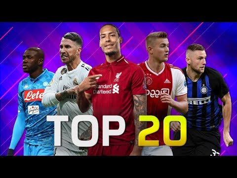 Top 20 Football Defenders - Centre Backs 2019