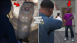 I found CJ's grave in GTA 5! (Carl Johnson Safehouse Unlocked)