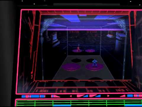 Discs of Tron EDOT 3D arcade model