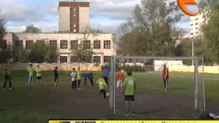 Тренировки по футболу в Первоуральском детском доме