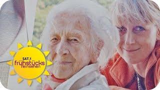 Endlose Liebe: Enkeltochter kümmert sich seit 14 Jahren um Oma   SAT.1 Frühstücksfernsehen   TV