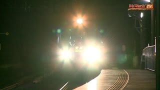 485系特急 「北越」 有間川駅で夜鉄