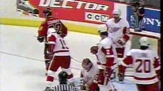 Flames-Wings 2004 - Two goals in 18 seconds