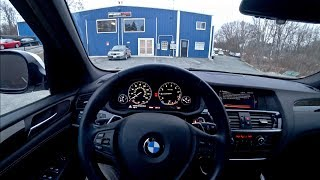 Does it Handle? 2014 BMW X3 M Sport - POV Test Drive (Binaural Audio)