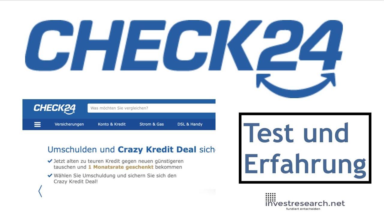 Check24 Test Und Erfahrung Vergleich Von Kfz Versicherung Strom