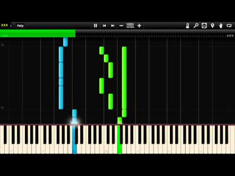 Kansas - Carry On Wayward Son - Synthesia Piano Tutorial